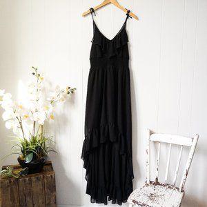 Guess Hi-Low Chiffon Maxi Dress